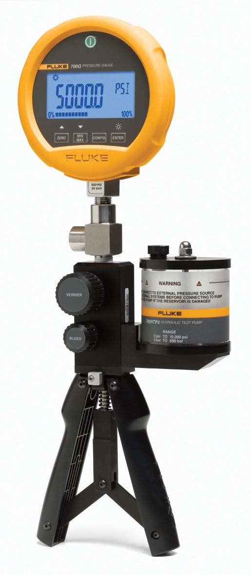USED Includes NIST Calibration Fluke 700G Digital Precision Pressure Gauges