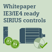 White paper on IE3/IE4-compliant industrial controls