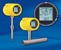 Thermal Flow Meter With PROFIBUS DP