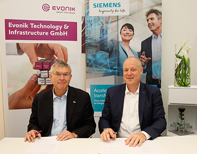 Siemens and Evonik Announced their Technology Partnership